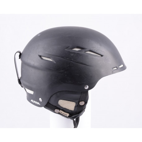 skihelm/snowboardhelm ALPINA BIOM black/matt, verstelbaar