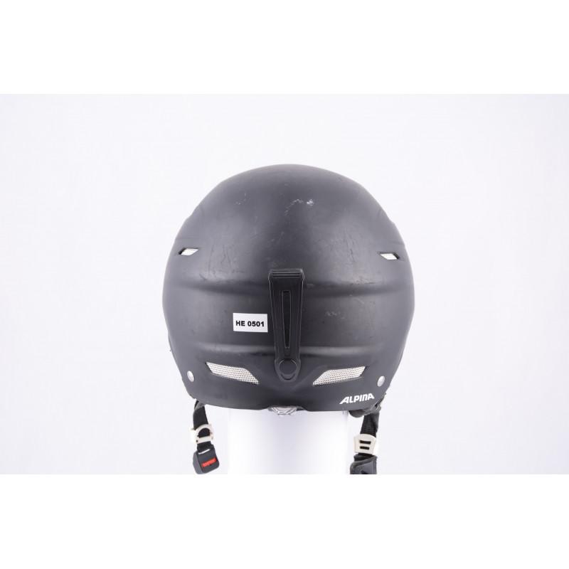 lyžiarska/snowboardová helma ALPINA BIOM black/matt, nastaviteľná
