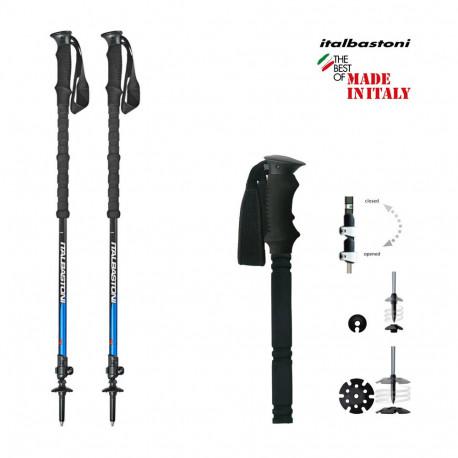 ski-touring poles ITALBASTONI ALP 2S 2021/2022 ( NEW )