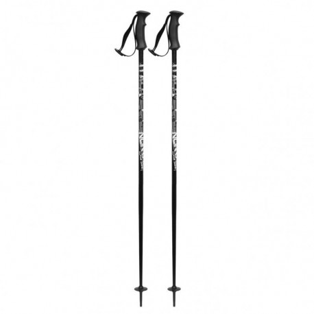 ski poles ITALBASTONI NOMAD BLACK ( NEW )