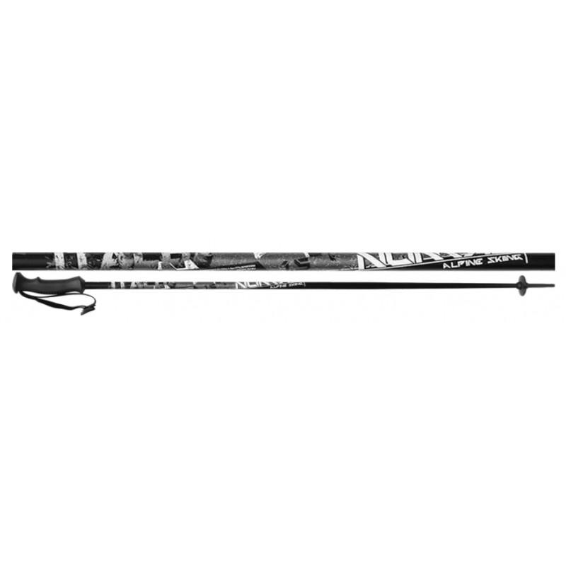 nové lyžiarske palice ITALBASTONI NOMAD BLACK