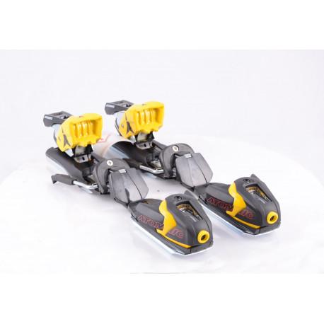 zjazdové viazanie ATOMIC XTO 10 black/yellow ( NOVÉ ) - bez podložky