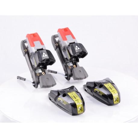 new ski binding FISCHER FX 12 black/yellow ( NEW )
