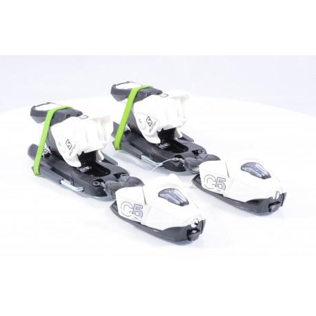new ski binding SALOMON N C5 J75, Black/White ( NEW )