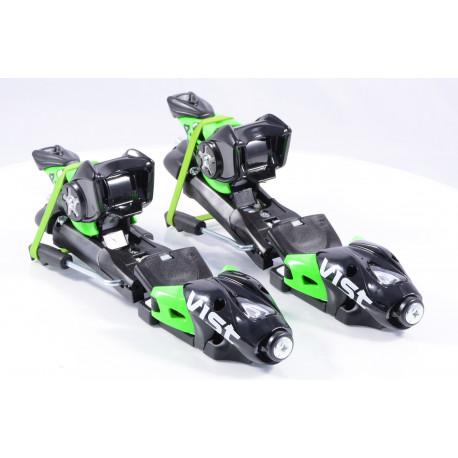 new ski binding VIST 412 TSC, BLACK/green + plate VIST ( NEW )