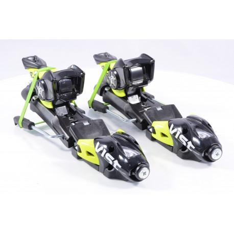 new ski binding VIST 412 TSC, BLACK/yellow + plate VIST ( NEW )