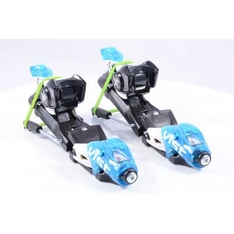 new ski binding VIST 311 TSC, BLUE/white + plate VIST ( NEW )