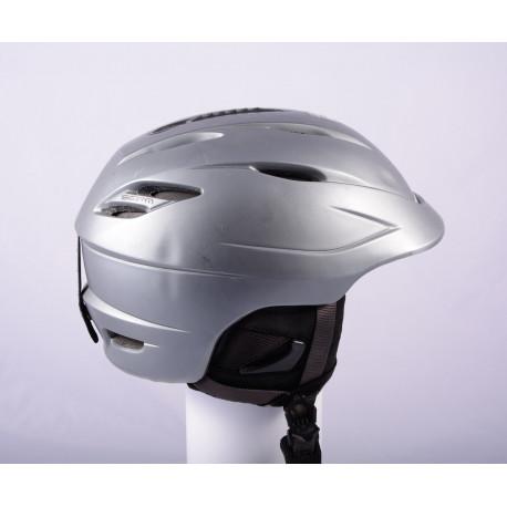 ski/snowboard helmet GIRO SEAM Grey, AIR ventilation, X-static, adjustable