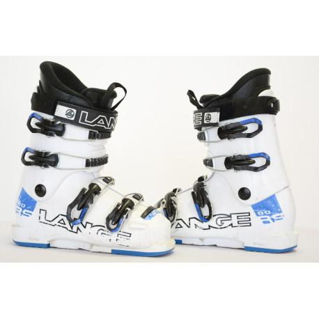 detské/juniorské lyžiarky LANGE RS 60 White/blue