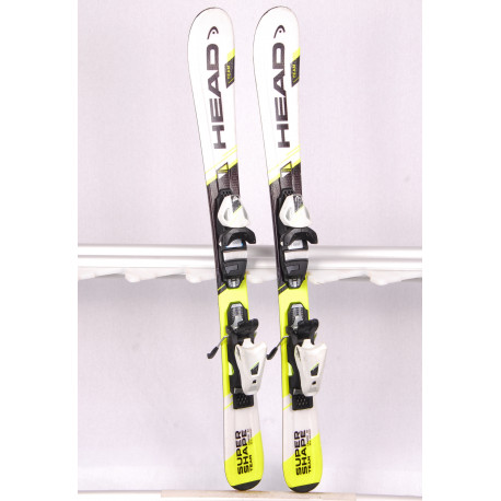 children's/junior skis HEAD SUPERSHAPE TEAM ERA 2.0 + Head SLR 4.5