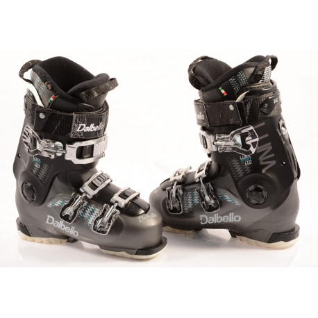 chaussures ski femme DALBELLO LUNA SPORT 60 ltd, FLEX adj. micro, macro ( en PARFAIT état )