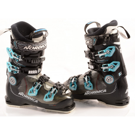 botas esquí mujer NORDICA SPEEDMACHINE 95 W, ANTIBACTERIAL, WEATHER shield, canting, ACP, micro, macro