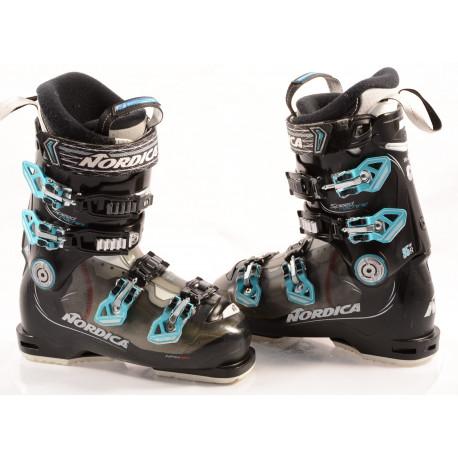 women's ski boots NORDICA SPEEDMACHINE 95 W, ANTIBACTERIAL, WEATHER shield, canting, ACP, micro, macro