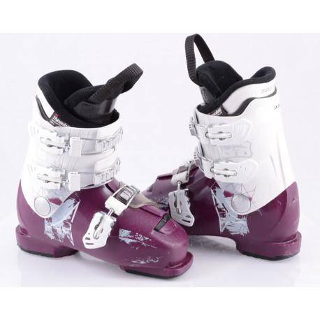 children's/junior ski boots ATOMIC WAYMAKER GIRLS 3, VIOLET/white, micro, macro, THINSULATE insulation