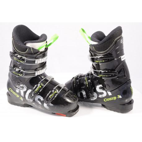 children's/junior ski boots ROSSIGNOL COMP J4 Black, macro