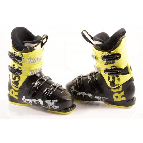 children's/junior ski boots ROSSIGNOL TMX J4, BLACK/yellow