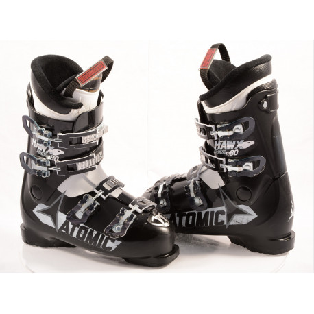 Skischuhe ATOMIC HAWX MAGNA R80, micro, macro, EZ STEP-IN, BLACK/white