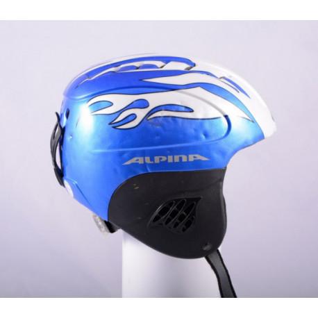 lyžiarska/snowboardová helma ALPINA TWISTER, BLUE/white, nastaviteľná