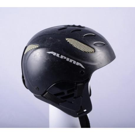 lyžařská/snowboardová helma ALPINA CUSNA black, AIR ventilation, nastavitelná