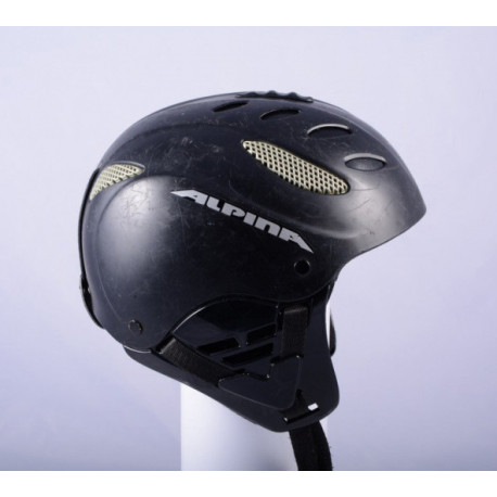 lyžiarska/snowboardová helma ALPINA CUSNA black, AIR ventilation, nastaviteľná