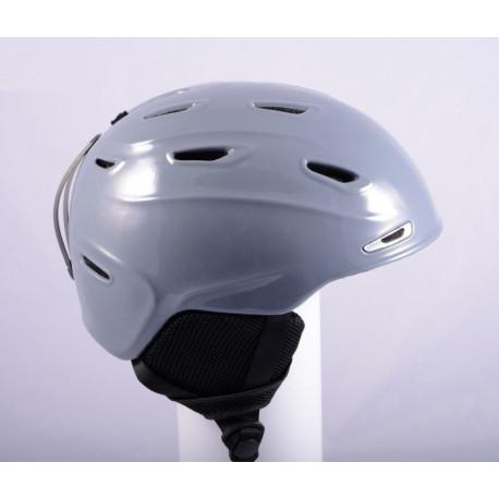lyžařská/snowboardová helma SMITH ELEVATE 2019 Grey, Air ventilation, nastavitelná ( TOP stav )