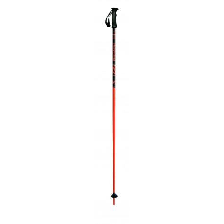 children's ski poles ITALBASTONI ITALIA JR ORANGE ( NEW )
