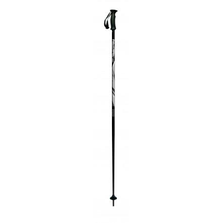 children's ski poles ITALBASTONI KID ROCK BLACK ( NEW )