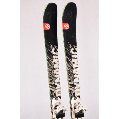 skialp freeride lyže DYNAMIC MOUNTAIN KING advanced, woodcore, All terrain rocker + DIAMIR PRO freeride + Pásy