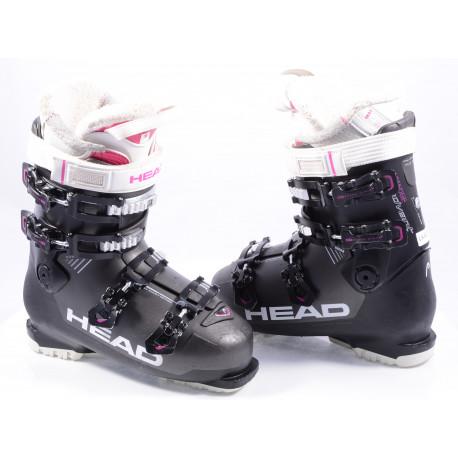 dámske lyžiarky HEAD ADVANT EDGE 85, double adj profile, duo flex, easy entry design ( TOP stav )