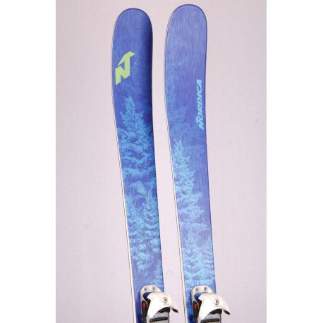 skialp freeride lyže NORDICA SANTA ANA 93 2019, Energy Ti Balsa + Diamir Fritschi + Pásy ( TOP stav )