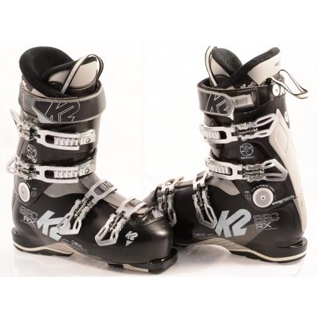 ski boots K2 BFC RX 90 black, CUSH FIT liner, FIT logix, CUSTOM THERMO shell, ENERGY interlock, CUFF adj. ( TOP condition )