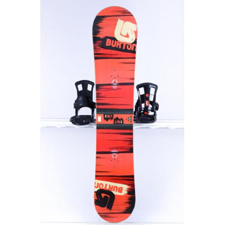 snowboard BURTON PROGRESSION LTR STREAK, RED/black, WOODCORE, sidewall, CAMBER