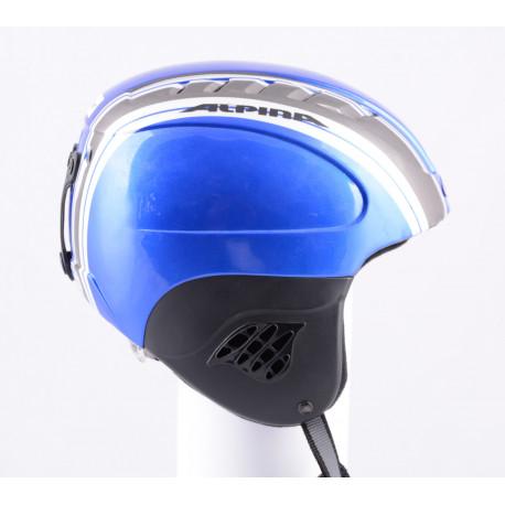 lyžařská/snowboardová helma ALPINA CARAT blue/silver, nastavitelná