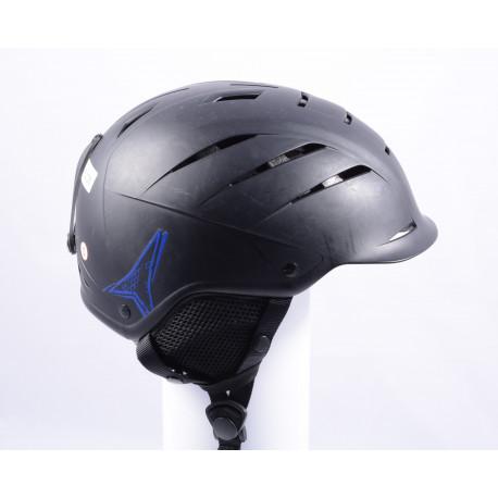 lyžařská/snowboardová helma ATOMIC NOMAD BLACK/blue, nastavitelná