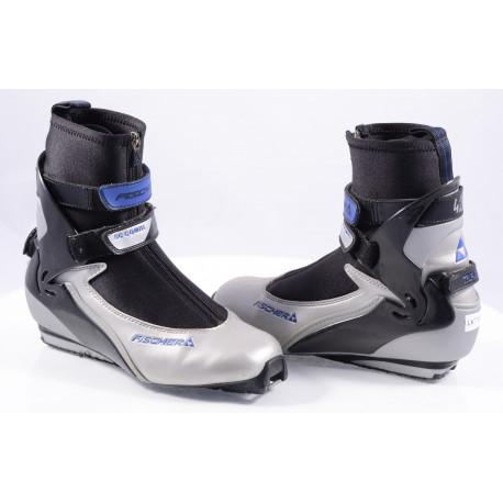 cross-country boots FISCHER SC COMBI, SNS profile, triple fit