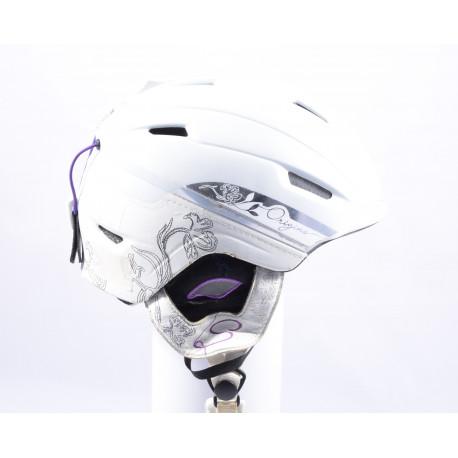 lyžařská/snowboardová helma SALOMON DIVINE ORIGINS WHITE