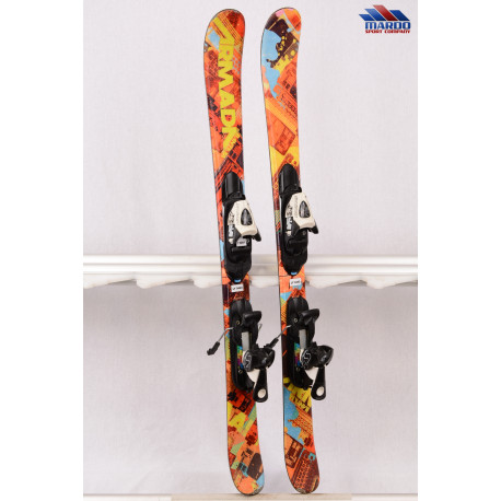 detské/juniorské lyže ARMADA BANTAM orange + Salomon T5