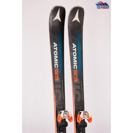 lyže ATOMIC VANTAGE X 80 Cti 2018, BLUE/orange, POWER woodc., CARBON, TITANIUM, AM rocker + Atomic Warden 13 ( TOP STAV )
