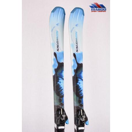 dámske lyže SALOMON SIAM 5 blue, speed frame technology, space frame + Salomon 609