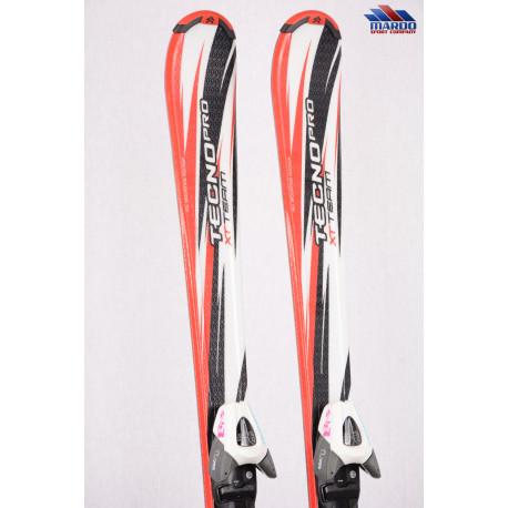 detské/juniorské lyže TECNO PRO XT TEAM, White/red + TECNO TL 75 ( NOVÉ )