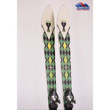 lyže STOCKLI Y 85 green, woodcore, FREERIDE, TIP rocker + Salomon Z10