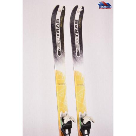 skialp lyže SKI TRAB PIUMA NANO sintesi, woodcore, carbon, fiber, steel edges + Diamir Eagle 10 + Pásy ( ako NOVÉ )