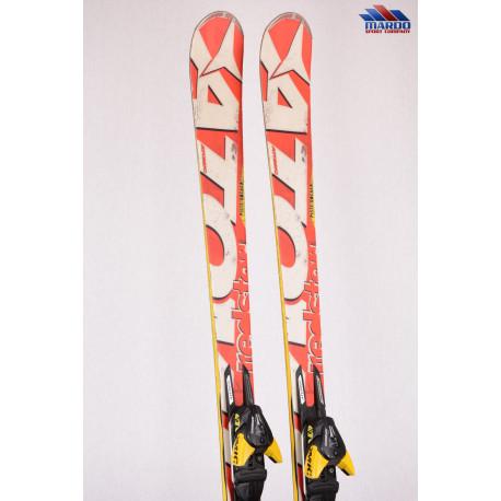 skis ATOMIC REDSTER edge GS piste rocker, woodcore, titanium, handmade + Atomic XTO 12