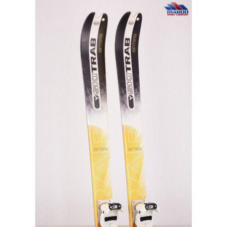 skialp lyže SKI TRAB PIUMA NANO sintesi, woodcore, carbon, fiber, steel edges + Fischer Ambition 10 ( NOVÉ ) + Pásy