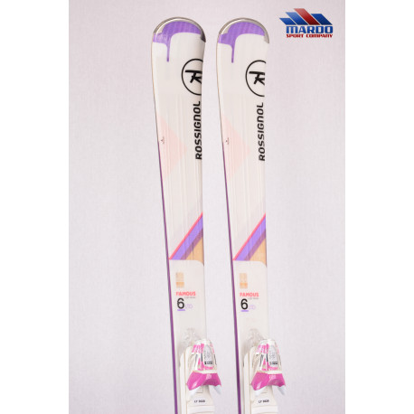 dámske lyže ROSSIGNOL FAMOUS 6 Ltd 2018, VAS carbon, Light woodcore + Look Xpress 10 ( TOP stav )