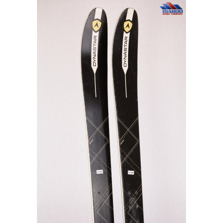 skialp lyže DYNASTAR MYTHIC 97, 2018, light woodcore, carbon fiber - BEZ VIAZANIA