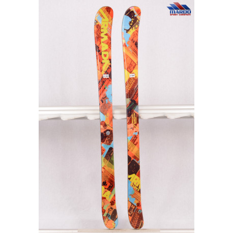 detské/juniorské lyže ARMADA BANTAM, positive camber, twintip - BEZ VIAZANIA ( NOVÉ )