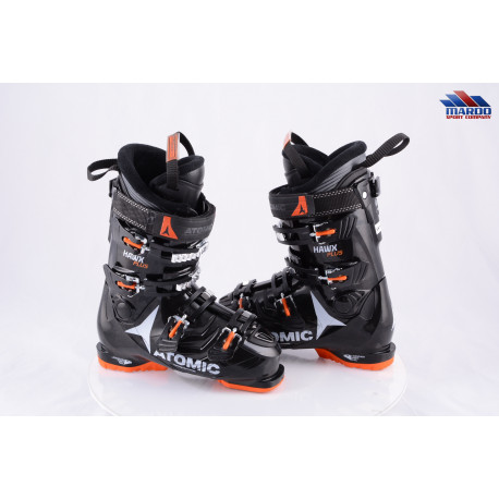 lyžiarky ATOMIC HAWX 100 PLUS 2018, micro, macro, RECCO, BLACK/orange