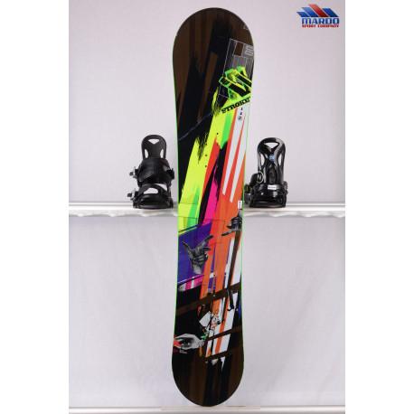 snowboard VOLKL STROKE, woodcore, ROCKER, black/yellow