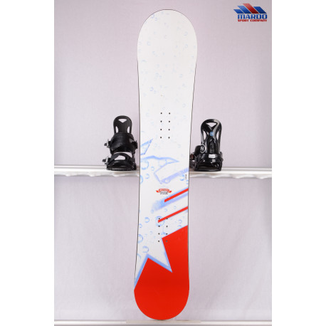 snowboard SMIRNOFF ICE limited edition, woodcore, CAMBER, white/red